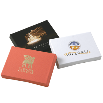 Luxury custom cardboard credit card gift box