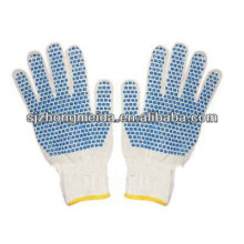 cotton hand glove/knitting working safety hand glove