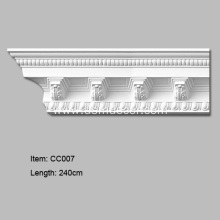 Cheap for Crown Mouldings, Polyurethane Carved Cornice Mouldings, Cornice Corner Manufacturer in China High Density Decorative Corner Moulding supply to South Korea Importers