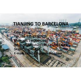 Mainland Tianjin Sea Freight to Spain Barcelona