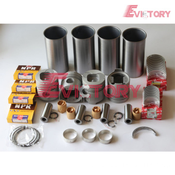 excavator 4Y engine gasket bearing piston ring liner