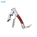 Wooden Handle Waiters Wine Corkscrew Opener
