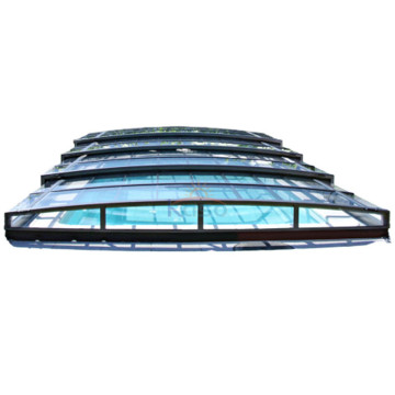 Motor Enclosure Retractable Swimming Pool Cover