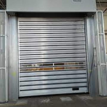 Aluminum Alloy Frame Automatic High Speed Door