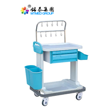 Medical infusion car with drawer