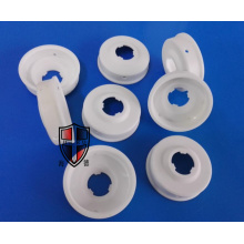 customized alumina ceramic cover cap eyelet