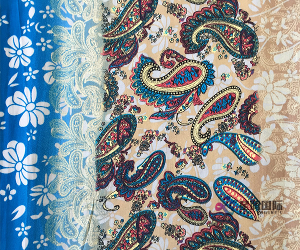 Popular Rayon Printed Fabric