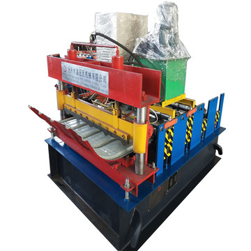 Curving Roof Sheet Forming Machine