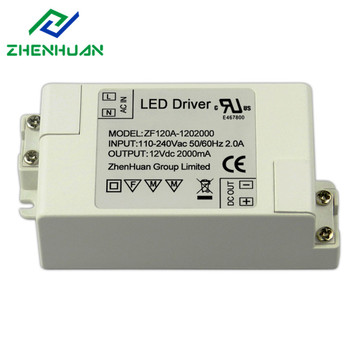 24W 12V UL Certification Led Driver Power Supply