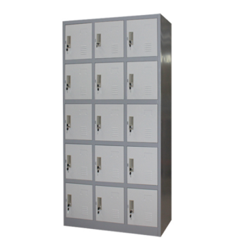 Factory school worker metal 15 door locker