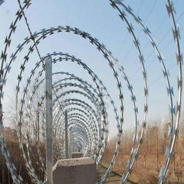 Single Loop Razor Wire