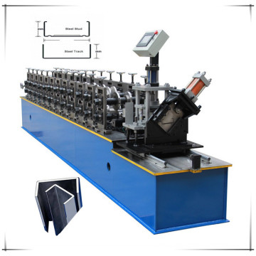 Drywall stud and track making machinery