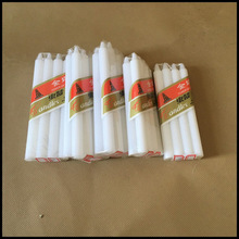 Factory supplied for 8X65 Packing White Candle Home use White Stick Pure Wax Candle supply to Congo Importers