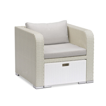 Classic Style Garden Line Rattan Sofa Lounge Set