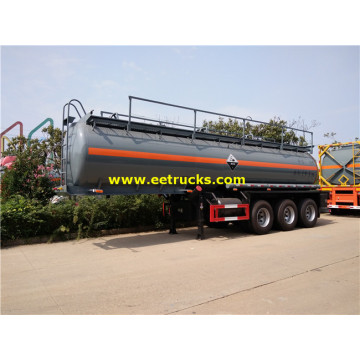 19000 Litres 3 Axles H2SO4 Transport Semi-Trailers