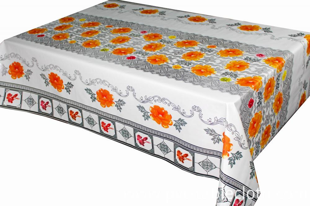 Transfer Printing Tablecloth with Laser