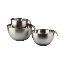 High Quality for Mixing Bowl Set Stainless Steel Nesting Camo Painting Mixing Bowls supply to Russian Federation Exporter