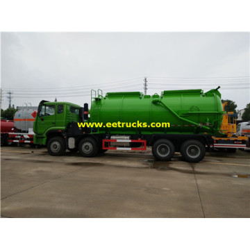SINOTRUK 20cbm Dung Suction Tanker Trucks