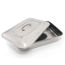 Stainless steel surgical tray dental medical dish