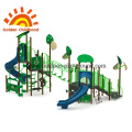 Natural Street Outdoor Playground Equipment For Children