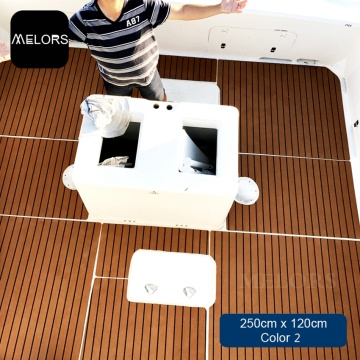 Non-slip EVA Teak Decking Sheet For Boat