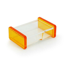 Mini Clear Acrylic Business Card Holder