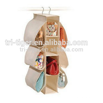 High Quality Non Woven Closet Organizer hanging organizer foldable Organizer pocket storage