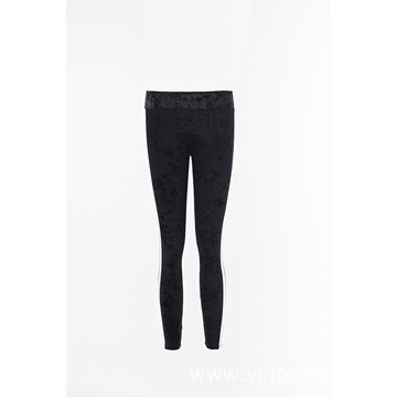 Solid Velvet Leggings for women