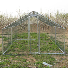 Mobile chicken run coop enclosure with BV's audit