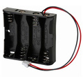 4 AA Cell Holder with PC connector