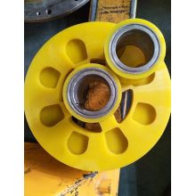 High Quality for Nylon Gear Wheel Custom Label Paper Feeding Urethane Drive Rollers Wheels export to Romania Manufacturer