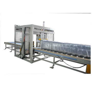 Horizontal Orbital Wrapping Machine for rod and bar