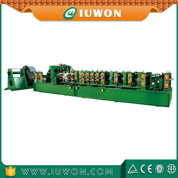 China New Product for C Z Purlin Roll Forming Machine IUWON C Z Changeable Purlin Forming Line supply to Oman Exporter