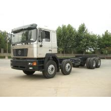 Shacman 8x4 Truck chassis with weichai engine van chassis cargo truck