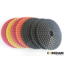 Customized Supplier for China Polishing Pads, Diamond Polishing Pads, Granite Polishing Pads, Stone Polishing Pads, Marble Polishing Pads, Polisher Pads, Floor Buffer Pads Exporters 125mm Wet Polishing Pads export to Sudan Manufacturer