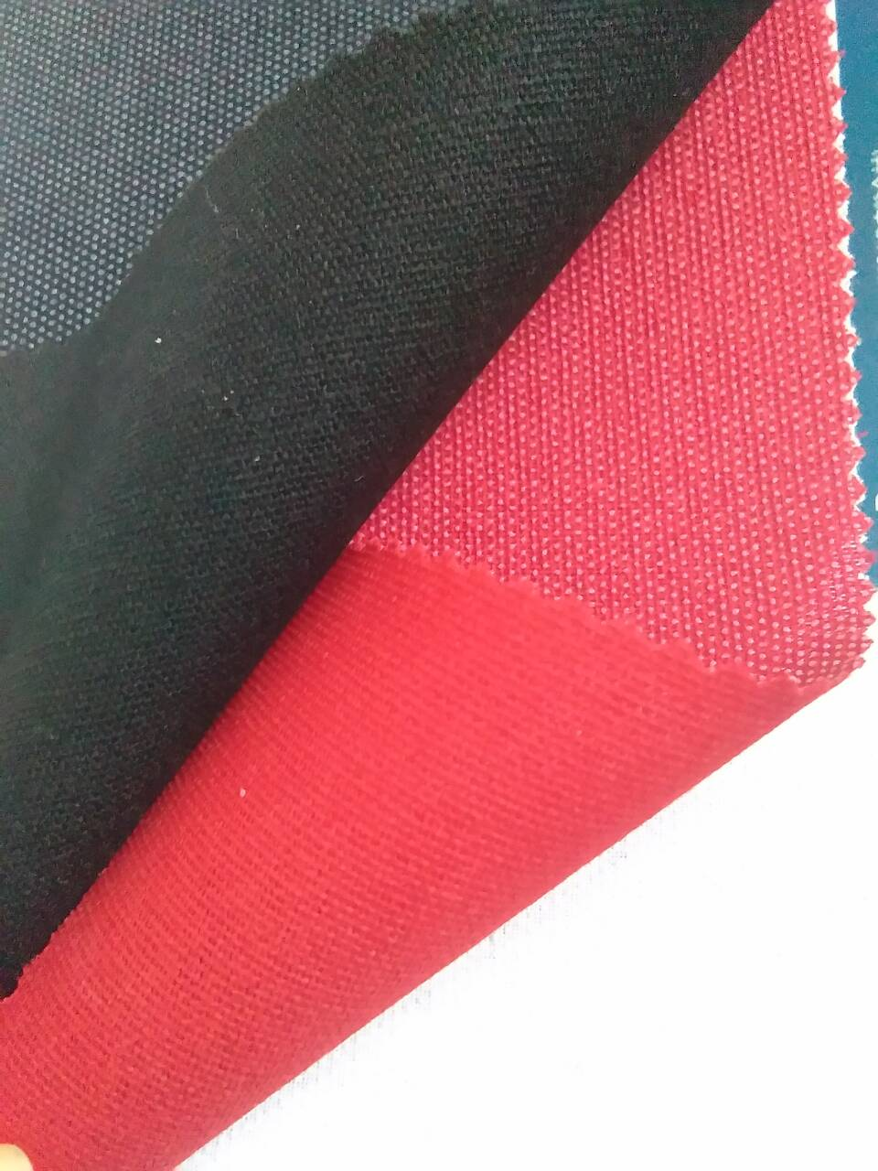 fashion fusible interlining /red shoulder interlining