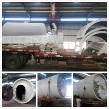 hot sale tire pyrolysis recycling to oil machine