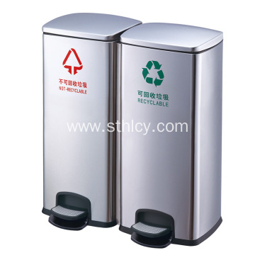 Classification Stainless Steel Garbage Can Pedal Large