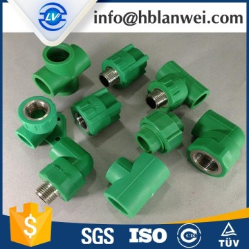 Leading for Standard PPR Pipe Fittings HIGH QUALITY PPR PIPE FITTINGS supply to French Polynesia Factory