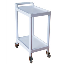 Hospital 2 Layer Medical ABS Instrument Trolley