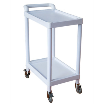 Isibhedlela 2 I-Layer Medical Instrument Trolley yezokwelapha