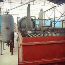 Old Tyre Pyrolysis to Furnace Oil System