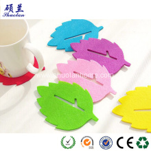 Special for Wool Felt Coaster Laser cut felt tea cup coaster supply to United States Wholesale