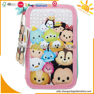 Tsum Tsum Deluxe 3 Layers Pencil Case