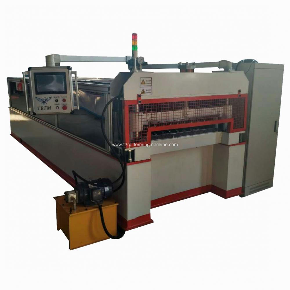 Customized ripped expanded metal machine
