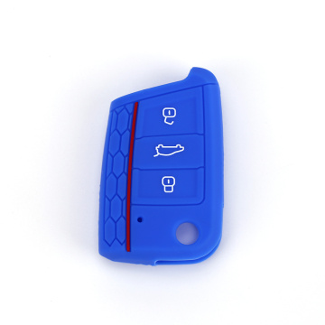 Magnetic silicone car key cover for Volkswagen