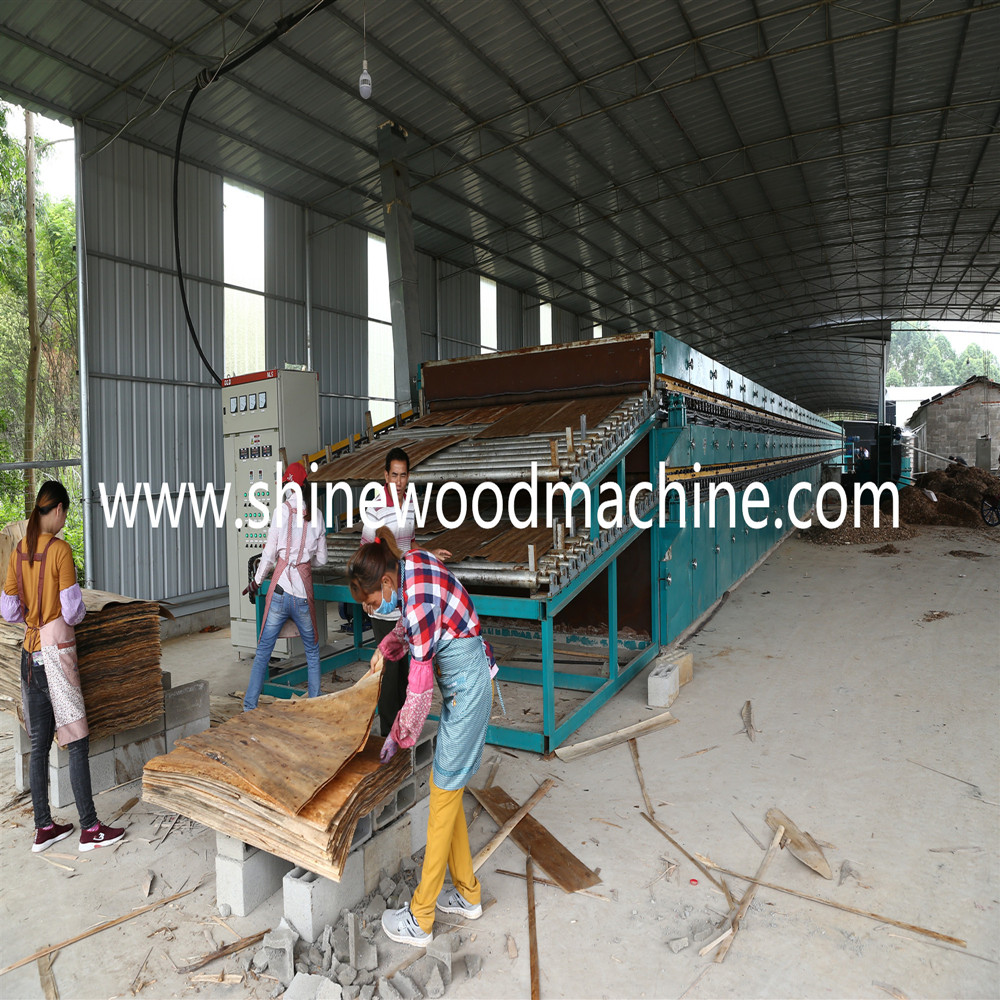 wood veneer dryer