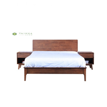 King Bed W1800 Full Solid Wood without Cushion
