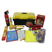 High drade car emergency kit 15pcs