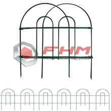 Green Garden Border Folding Fence Lawn Yard Fence